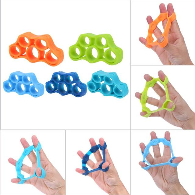 3pcs Finger resistance bands | Forearm, Wrist Training Hand Exerciser