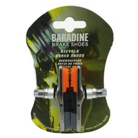 BARADINE Tri Color Replaceable Rubber Brake MTB 955VC Bicycle Brake Pads Brake Shoes
