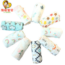 2019 New Baby Cotton Blankets Bath Towels Toddler Infant Muslin Swaddles Wrap Gauze For Newborn Gift High Quality Wholesale