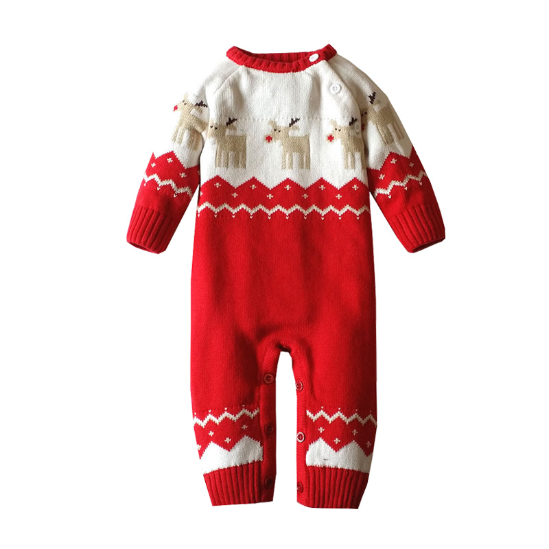 Christmas Baby Clothes Jumpsuit Children Winter Baby Rompers Overalls for Newborns Boys Girls Baby Clothing Cotton Jumpsuits baby clothes autumn winter baby rompers jumpsuit cotton baby clothing next christmas baby costume long sleeve overalls for boys