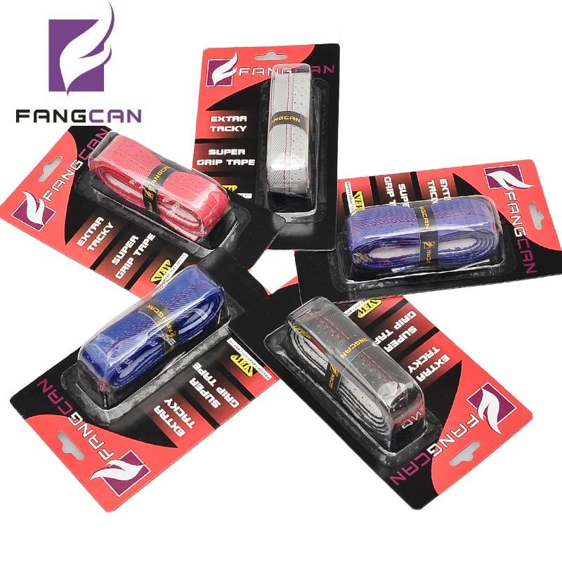 5pcs FANGCAN FCLG-03 Card Packing Thread PU Grip Unsticky Surface Anti-skid Overgrip for Tennis Racket Badminton Racquet