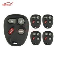 Kigoauto 5 шт 4 кнопки дистанционный смарт ключ чехол Брелок