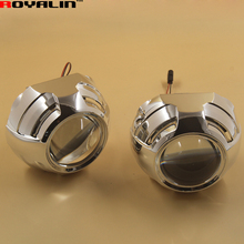 3.0 Metal Bi Xenon H1 Headlight Projector lens External Lights Lenses with Q5 Covers for H4 H7 Car Styling Motorcycle Headlamp