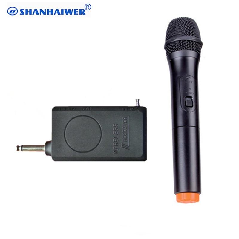 vhf professional portable handheld karaoke smart wireless microphone system karaoke singing. Black Bedroom Furniture Sets. Home Design Ideas