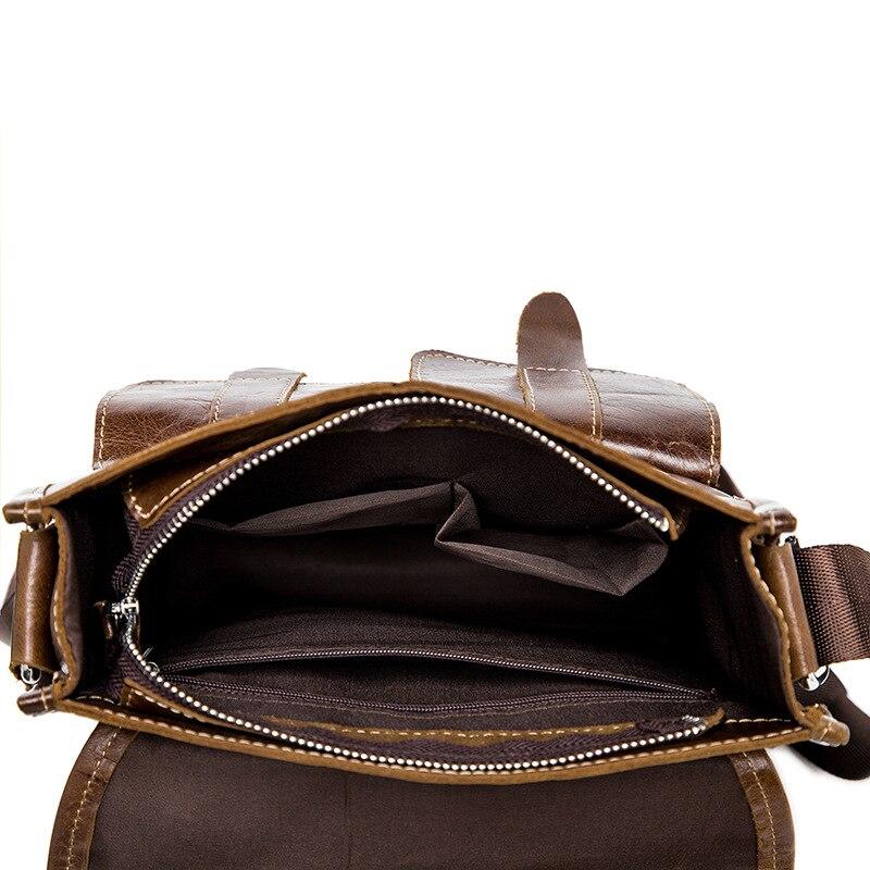 famous brand bag men messengerbags men' s men's one-shoulder bag, shoulder bag, casual, baotou, man bag luggage tag 11