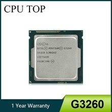 Processador intel, pentium g3260 dual core cpu sr1k8 3.3ghz 3mb lga1150 testado