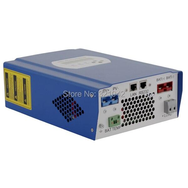 MPPT solar charge controller 48V 40A 12V 24V 48V auto work with RS232 Lan DC load Ctrl, 40A 48V PV regulator easy 60a 12v 24v 48v solar charge controller engineering premium quality com rs232 with pc
