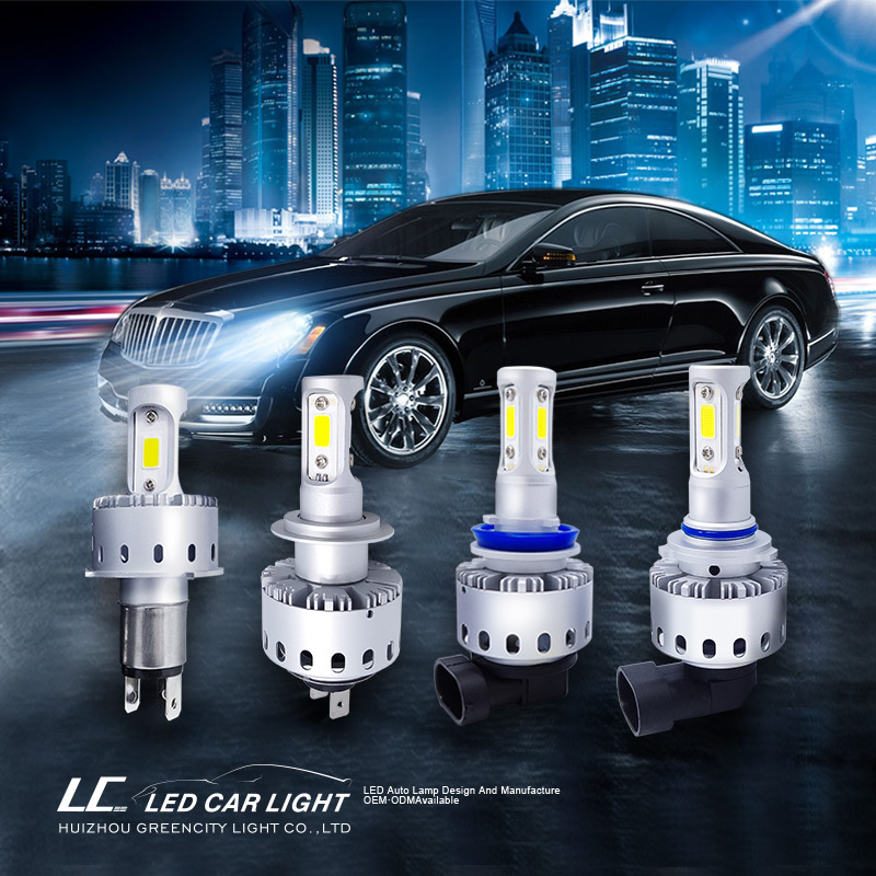 High Power LED Bulbs H7 6000K White For Hyundai Genesis Sonata Veloster Accent on High Beam Daytime Running Lights 1w led bulbs high power 1w led lamp pure white warm white 110 120lm 30mil taiwan genesis chip free shipping