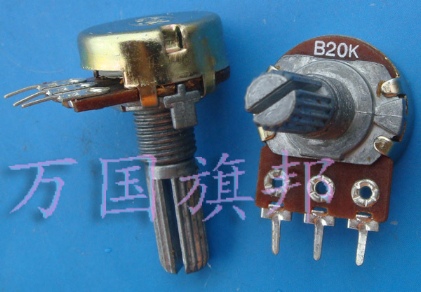 The Free Delivery.WH148 potentiometer B20K single tripod long handle