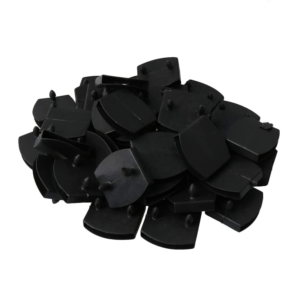 50Pcs Plastic Bed Slat Centre Caps Holders Replacement For Holding & Securing Wooden Slats Bed Base