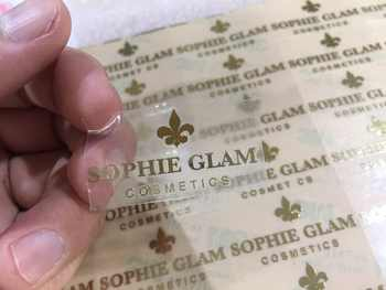 Custom name logo metal stickers,luxury self adhesive metal stickers for glasses bottle,embossed metal labels sticker for plastic - Category 🛒 Home & Garden