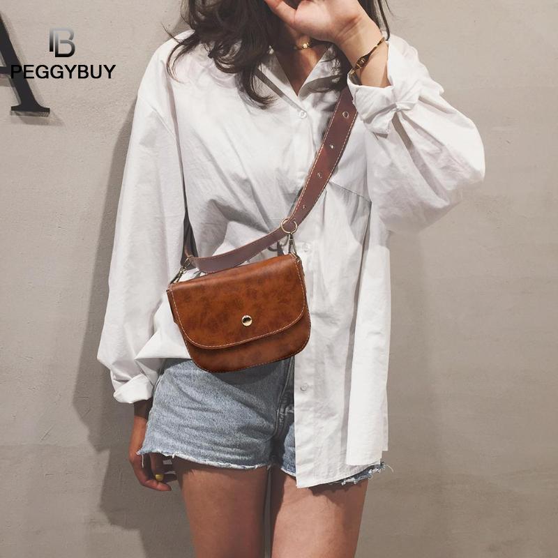 Women PU Leather Belt Bag Luxury Waist Bags Women PU Leather Belt Bags Phone Pouch Fanny Packs Waist Chest Handbags Dropshipping