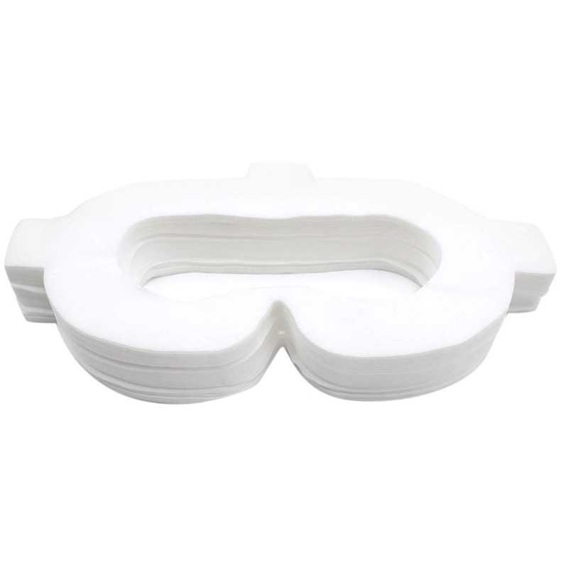 Amvr Vr Подушечка Для лица, покрытие из нетканого материала, одноразовая гигиеническая маска с волшебными палочками для Oculus Go (50 шт)