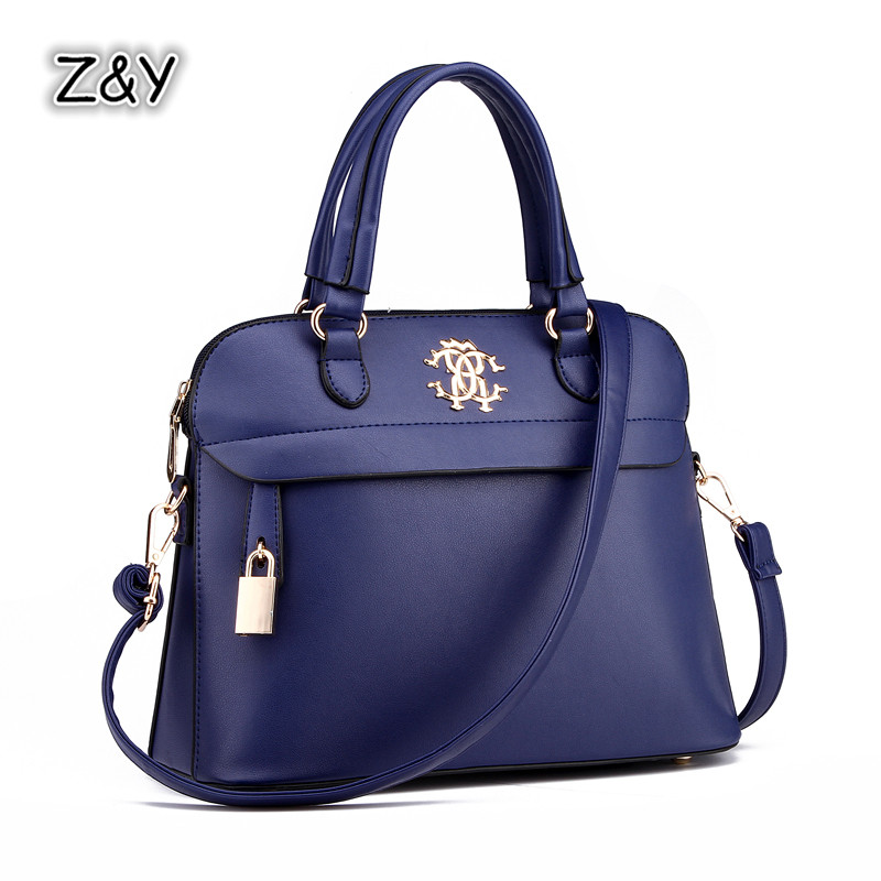 9 Styles Shell Bag New Trend Las Handbags European And American Style High Grade Pu Leather Shoulder Crossbody Messenger Bags In Top Handle From