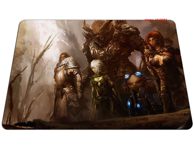 GW 2 mouse pad Fashion gaming mousepad 2016 new gamer mouse mat pad game computer desk padmouse keyboard large play mats