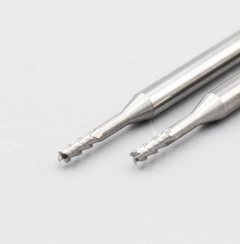 Купить с кэшбэком 1pcs 3flute HRC55 degree solid carbide end mill long neck milling cutter flat endmill  for aluminum process CNC deep processing