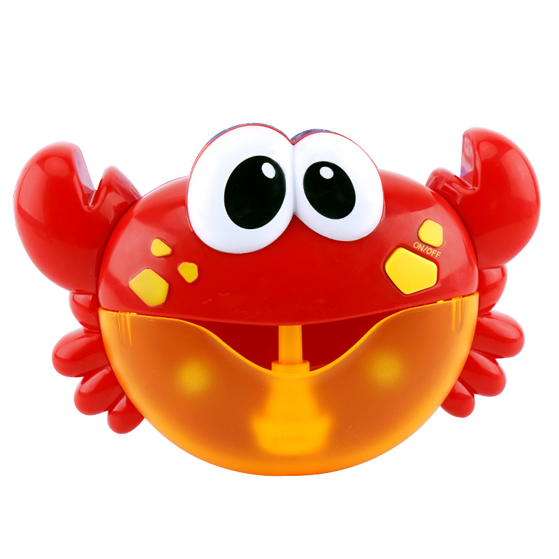 Baby Crab Bath Toys Crab Bubble Machine Automatic Bubble Maker Music Toy for Kids Bathroom Bathtub Pool Soap MachineBaby Crab Bath Toys Crab Bubble Machine Automatic Bubble Maker Music Toy for Kids Bathroom Bathtub Pool Soap Machine