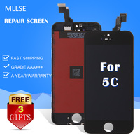 10 PCS LCD Screen For IPhone 5C 5S 5 Display With Touch Screen Digitizer Assembly Replacement