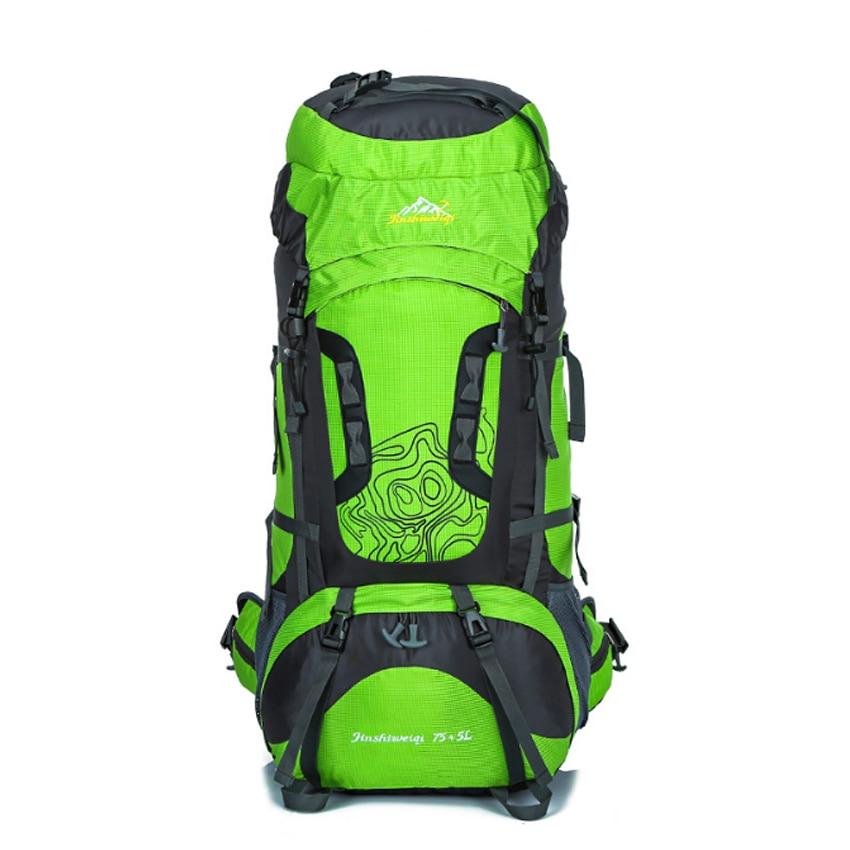80L Large capacity Outdoor Backpack Unisex Travel Multi-purpose climbing backpacks Hiking Rucksacks camping sports bags