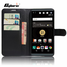CYBORIS for LG V34 Case PU Leather Phone Cover for LG V20 MINI Flip Cover Stand Wallet Bag Card Slot