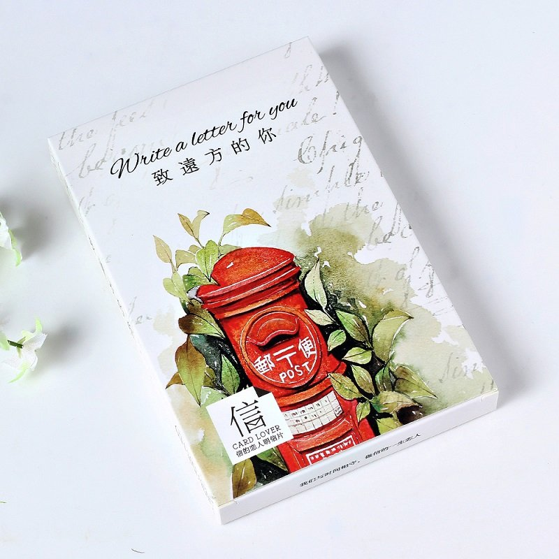30 pcspack write a letter for you greeting card p
