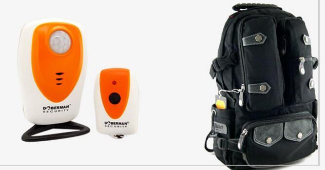 imágenes para Doberman SE-0305 Seguridad Impermeable Al Aire Libre PIR detector de alarma anti-robo de alarma PIR sensor camping protector perimetral por infrarrojos