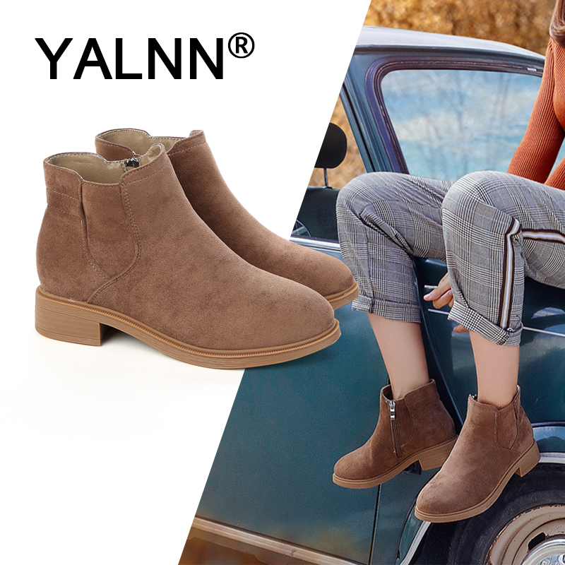 YALNN Women Boots Winter 2019 Ladies Fur Sexy Boot Shoes Ankle Boots for Women Plus Size Ankle Winter Boots for GirlsYALNN Women Boots Winter 2019 Ladies Fur Sexy Boot Shoes Ankle Boots for Women Plus Size Ankle Winter Boots for Girls