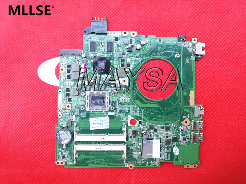 766715-001 system board fit for HP PAVILION 15-P SERIES motherboard 766715-501 DAY23AMB6C0 DDR3 maiboard 100% test original for hp cq320 cq321 motherboard 605746 001 6050a2327701 mb a02 ddr3 maiboard 100