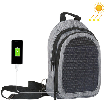 Waterproof Hiking Solar Backpack
