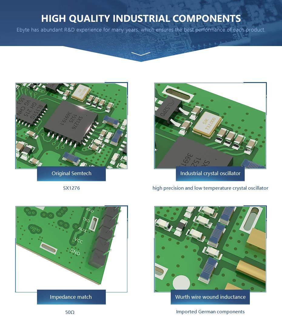E32-868T20D LORA-SX1276 Wireless Transceivers (5)