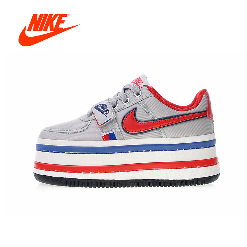 Original New Arrival Authentic Nike WMNS Vandal 2K Women's Skateboarding Shoes Sport Outdoor Sneakers Good Quality AO2868-001
