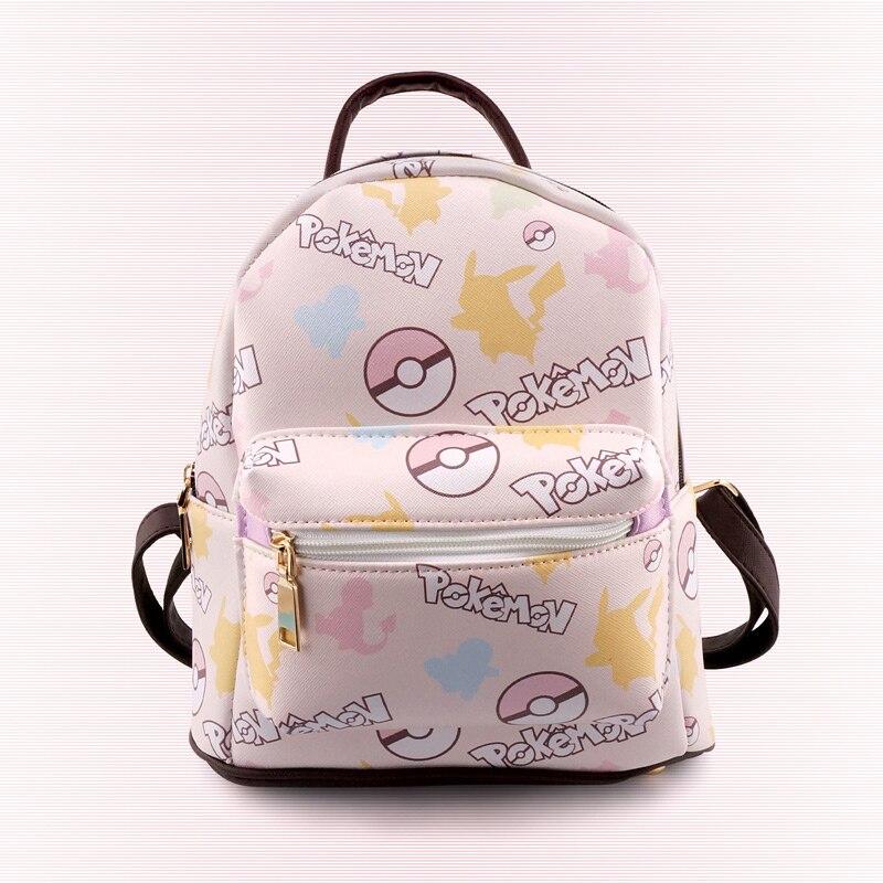 Anime Bagpacks Pokemongo Pikachu Leisure small backpack Japan and Korean Style Student backpacks Travel Bagpacks Girls Fashion anime tokyo ghoul cosplay anime shoulder bag male and female middle school student travel leisure backpack