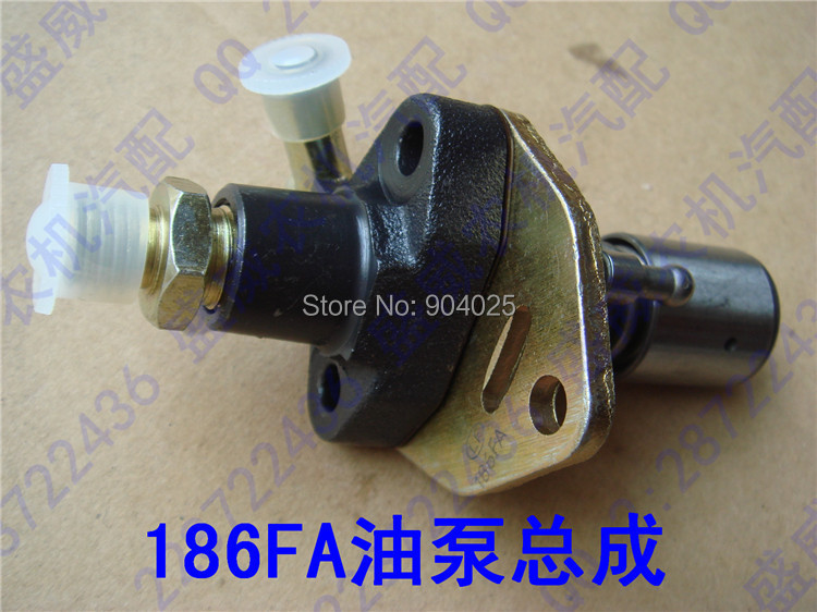 Дизельный двигатель с воздушным охлаждением, детали для микро-обработки почвы 170F 173F 178F 186F 186FA 188F 186 F, инжектор топлива, инжекторный насос в сборе