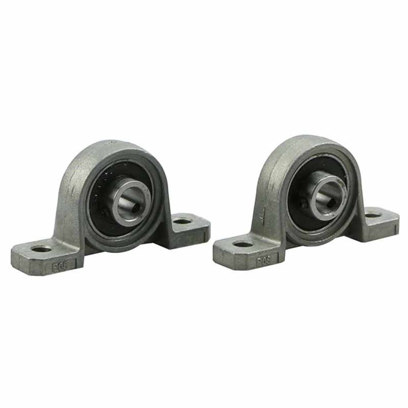 2pcs/lot Diameter 8mm Pillow Block Bearing High Quality Zinc Alloy Bore Ball Bearing Pillow Block Mounted Support KP08 6 5ft diameter inflatable beach ball helium balloon for advertisement