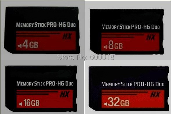 L H2testw Full Real Capacity High Speed MS HX 4GB 8GB 16GB 32GB 64GB Memory Stick Pro Duo Memory Cards PSP NO Crack Can No Use
