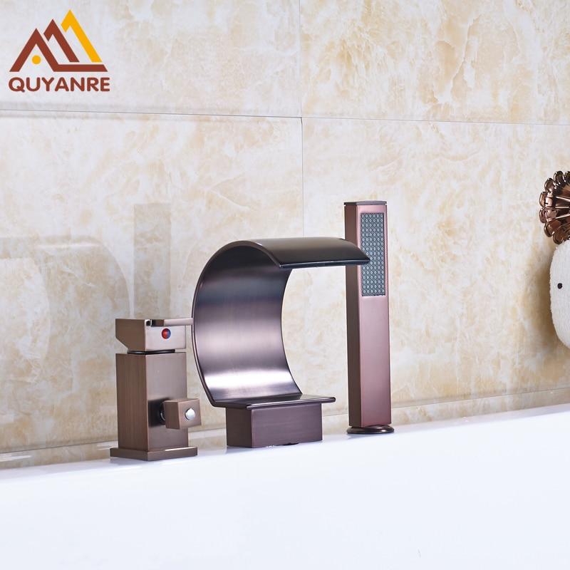 Oil Rubbed Bronze Finish Bath Amp Shower Mixer Faucet