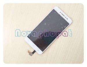Image 3 - Novaphopat Nero/Bianco/Oro A CRISTALLI LIQUIDI Per Asus ZenFone Live ZB501KL X00FD Display LCD Touch Screen Digitizer Assemblea Completa di ricambio
