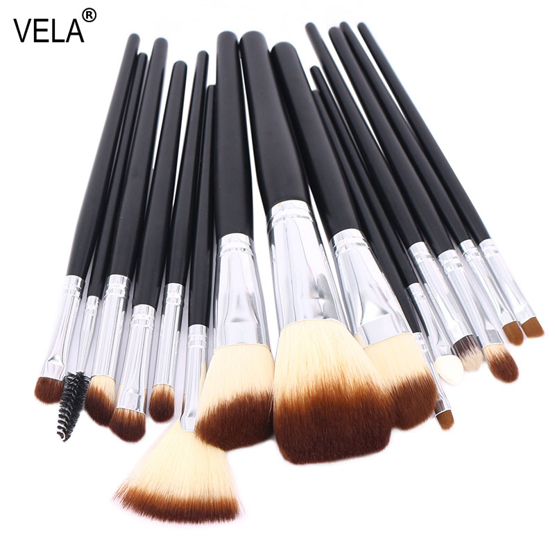 Premium 15pcs Makeup Brushes Set Professional Makeup Tools Kit