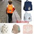 2016 nueva bobo choses primavera verano para niñas y niños bebé mochila niños nununu cut panda mochilas escolares