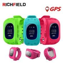 Купить с кэшбэком RICHFIELD kids Smart Watch Q50 kids watches with sim gps SOS Children smart baby watch Anti-Lost russian Kid SmartWatch Q90 Q80