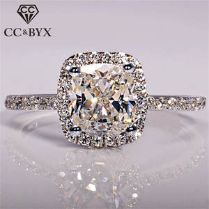 CC&BYX Rings For Women Wedding Engagement