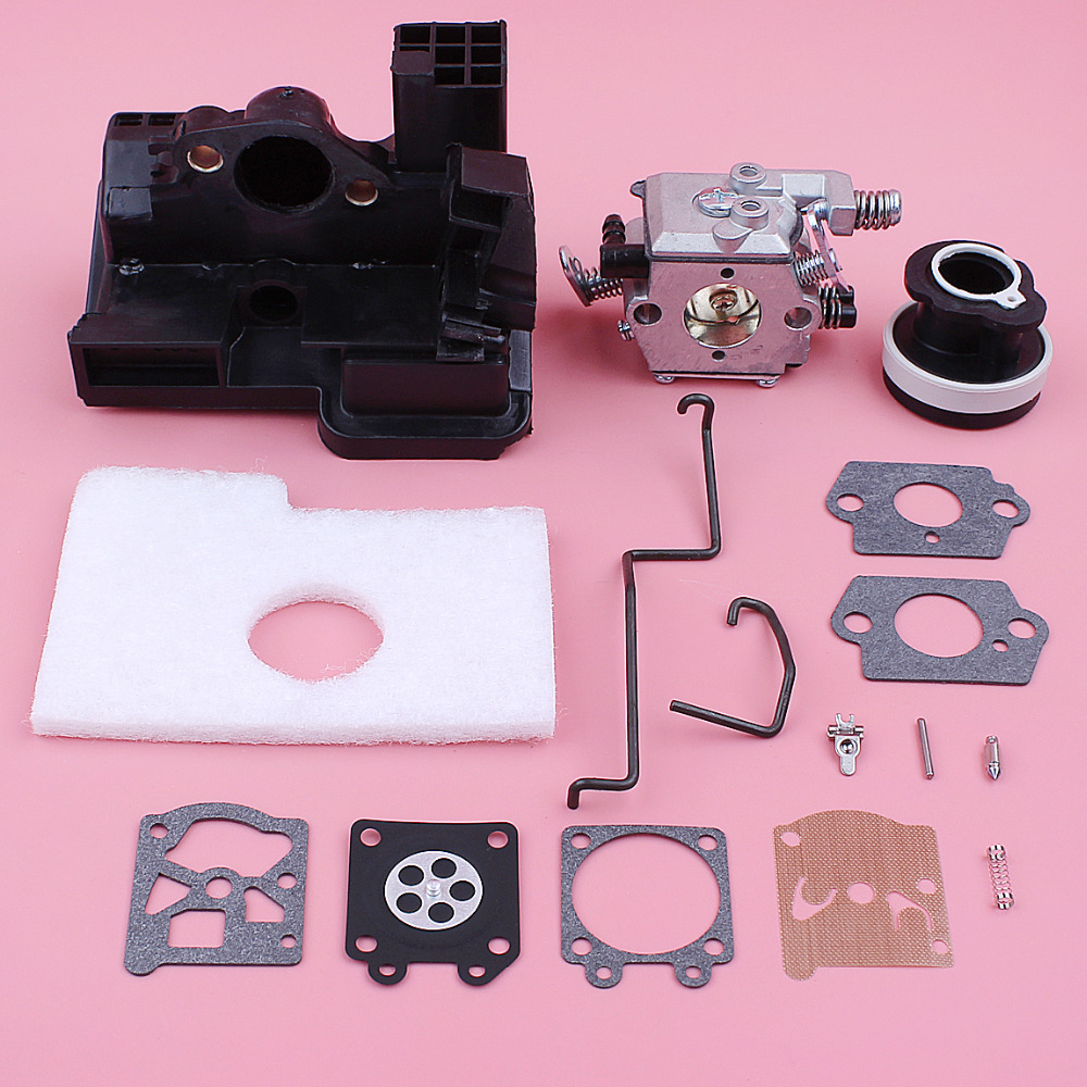 Carburetor Air Filter Housing For Stihl MS180 MS170 018 017 MS 180 170 Walbro Carb Intake Boot Repair Kit Chainsaw Replace PartCarburetor Air Filter Housing For Stihl MS180 MS170 018 017 MS 180 170 Walbro Carb Intake Boot Repair Kit Chainsaw Replace Part