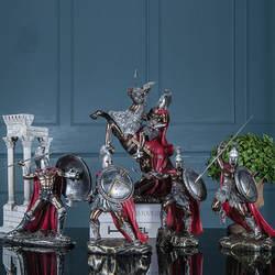 ТВ шкаф дисплей гостиная креативное украшение для винного шкафа Спартан ретро-модель крыльцо домашние ремесла