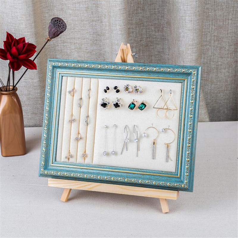 2019 new Jewelry display props earrings necklace Display props earring brooch bracelet necklace shelf display rack