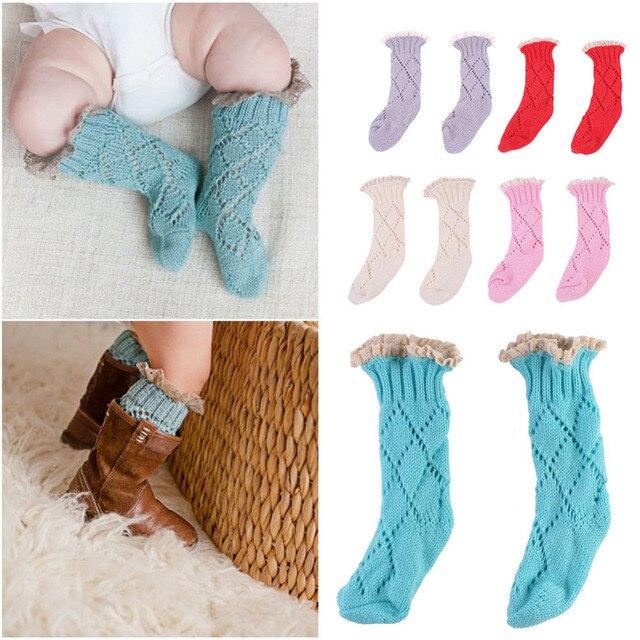 New New Warm Children Knee High Socks Baby Autumn And Winter