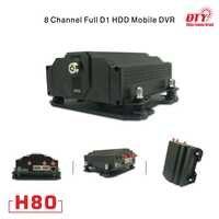 4g 3g gprs gsm gps mobile dvr 8 kanal xmeye cloud-technologie 8CH CCTV DVR Kits, H80-4G