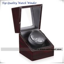 Alemán de calidad Super Slinet japón Motor reloj automático Winder caja adaptador de pantalla todos los países estándar GC03-S104EB