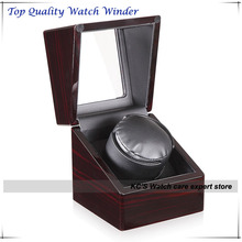 German Quality Super Slinet Japan Motor Automatic Watch Winder Box Display Adapter All Countries Standard GC03-S104EB