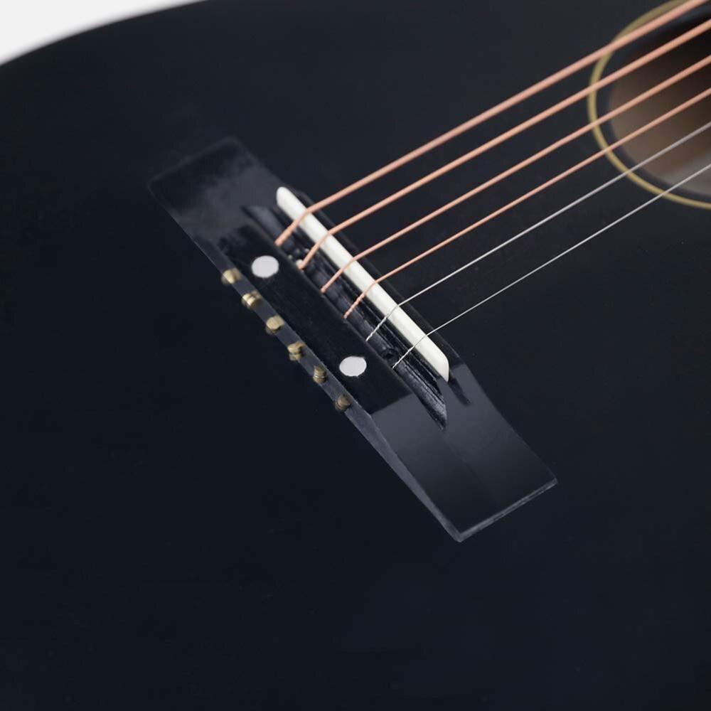 CNBLUE Chitarra Acustica Del Capretto Chitarra Per Principianti 30 Pollici 1/2 Mezza Corde Piccola Chitarra Starter Kit In Acciaio Formato Della Ragazza del Ragazzo chitarra - 4