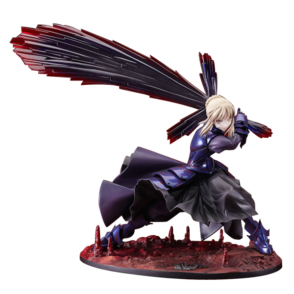 Anime Fate Stay Night Action figure Saber Alter Vodigan Ver. 18CM 1/7 Scale Painted PVC Action Figure Collection Toy Gift anime fate stay night saber triumphant excalibur 1 7 painted pvc figure collection model jids toys gift collectible toy